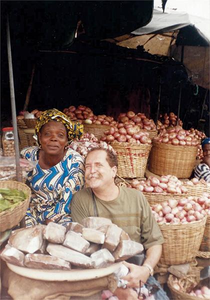 Mercado tradicional, Kotonu, Benin, África