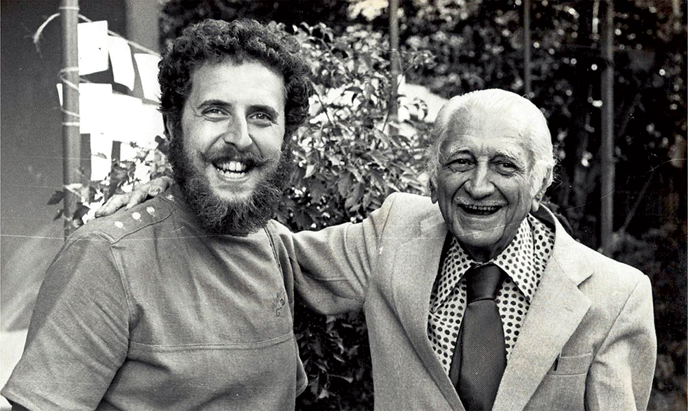 Gilberto Freyre e Raul Lody, Recife, Pernambuco, 1982