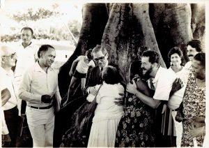 Tombamento do Terreiro Obá Ogunté Seita African Obá Omin, Sítio de Pai Adão, Recife, Pernambuco, 1985